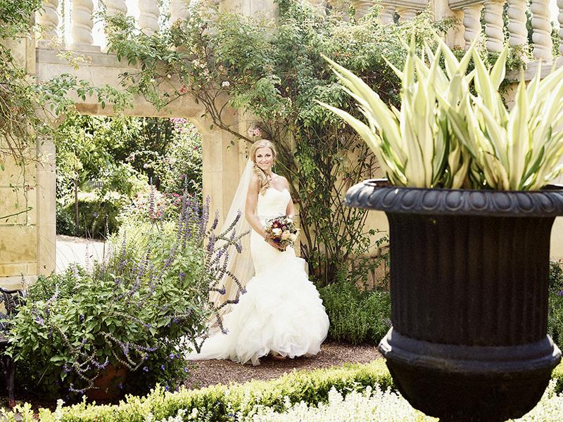Dallas Arboretum Bridal Portrait