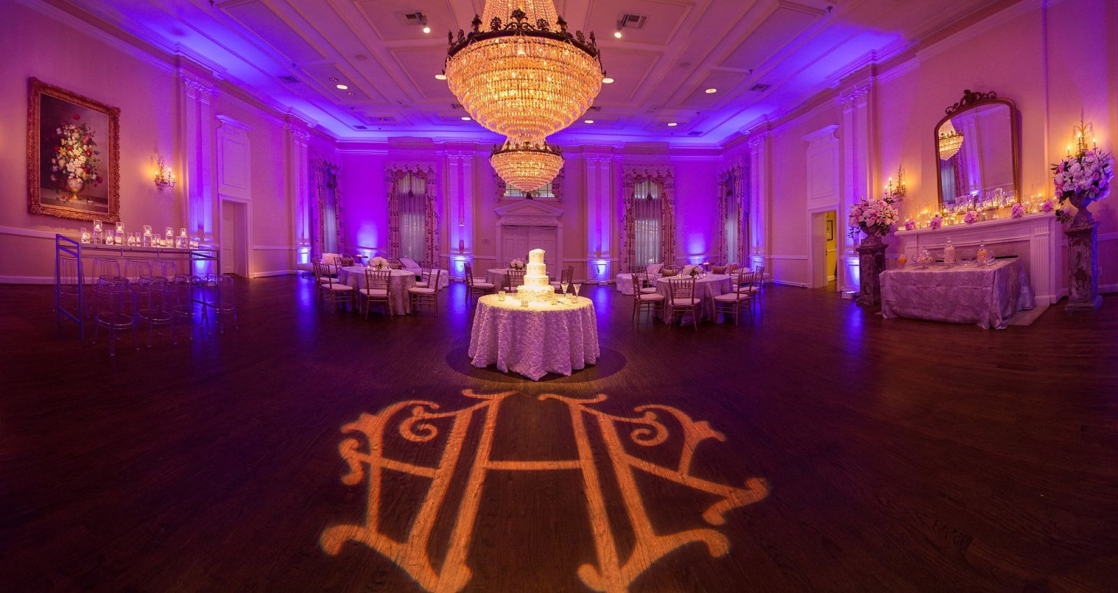 Dallas Wedding Arlington Hall Ballroom