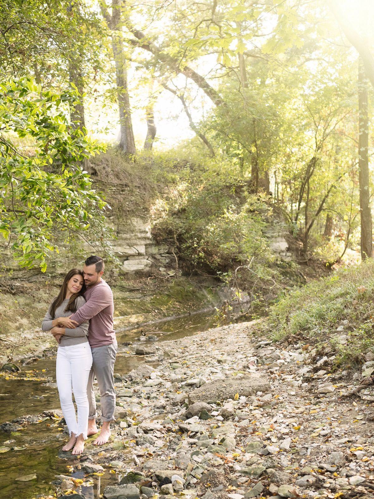 Turtle Creek Dallas Engagement