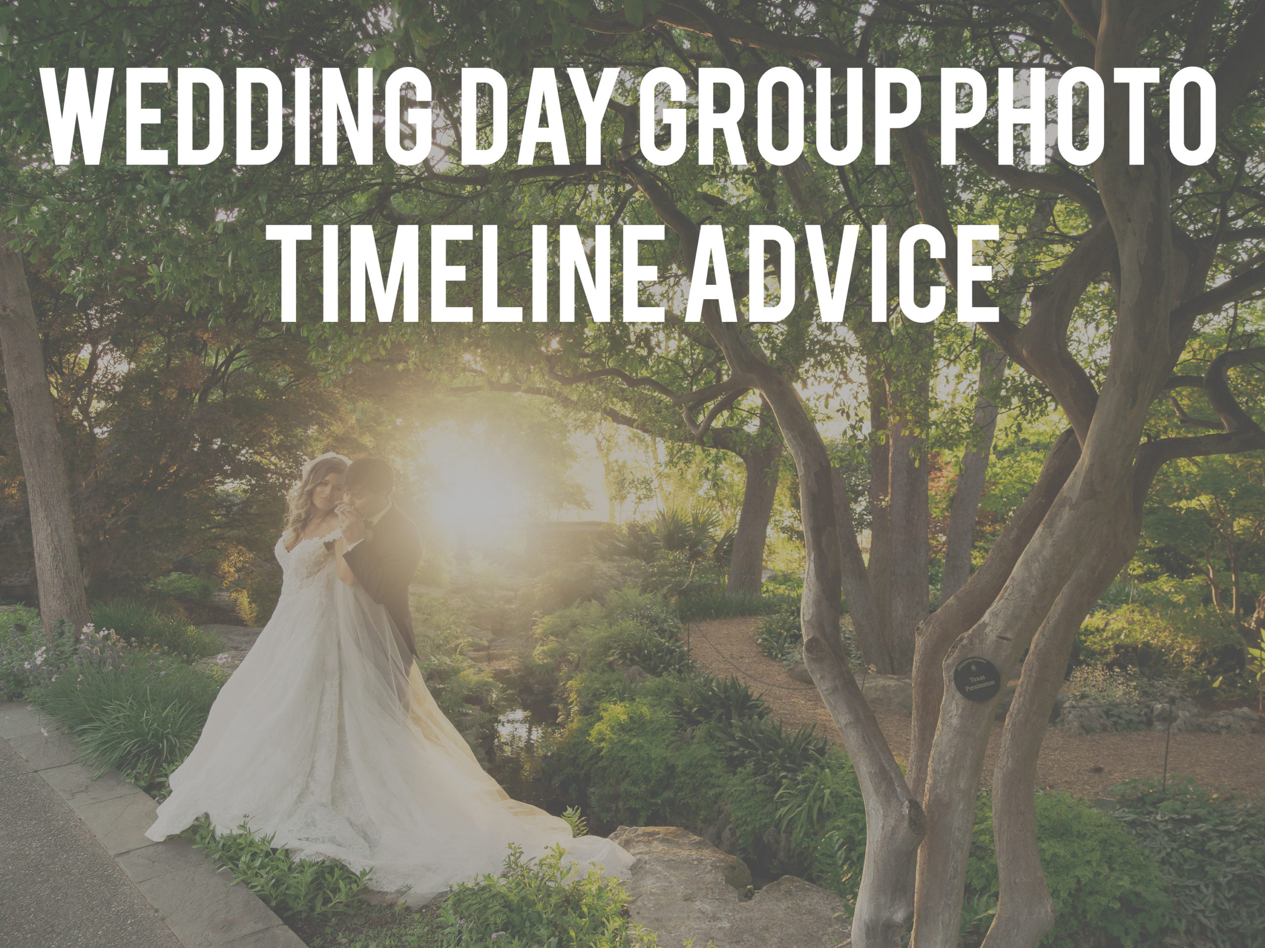 Dallas Wedding Article on wedding day timeline